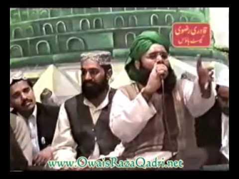 Teri Jaliyon Ke Neechay-  Owais Raza Qadri- Old Mehfil at Lahore...