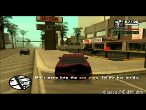 GTA: San Andreas: Mission 81 - Key to Her Heart (PS2)