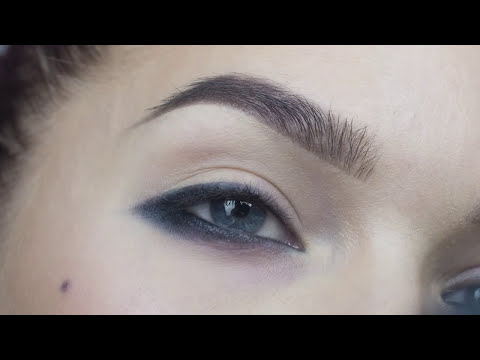Done Quick- Reversed Eyeliner- Linda Hallberg makeup tutorials