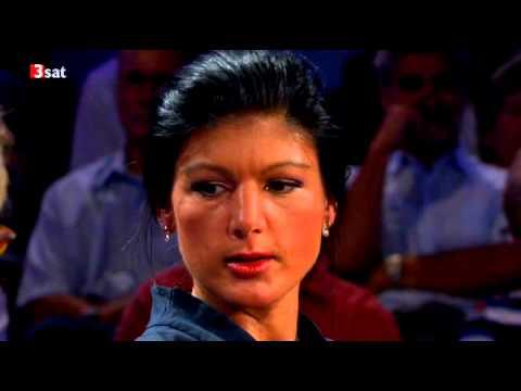 Sahra Wagenknecht - DIE LINKE- Riverboat - Talkshow - 10.09.2012