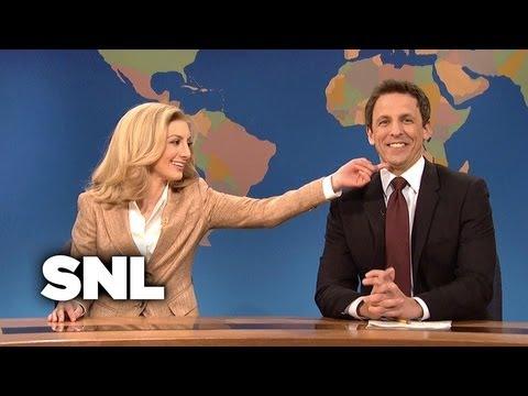 Weekend Update: Arianna Huffington on Bengazi - Saturday Night Live