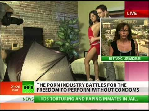 Disease scare prompts condom war in porn biz