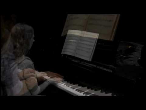 Leo Brouwer Estudios Sencillos #1-8 on piano