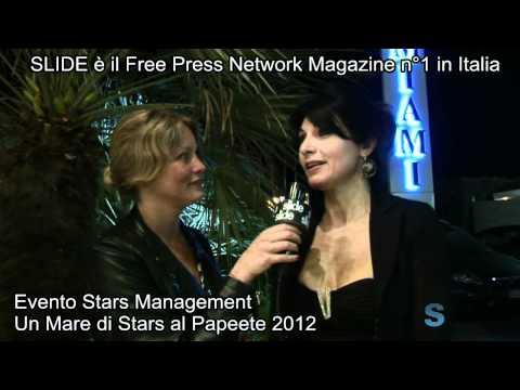 SLIDE TV : Flavia Vento inviata speciale di SLIDE intervista Nadia Bengala