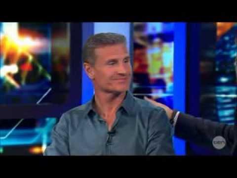 David Coulthard Interviewed by 4 Australian MotorSport Dipsticks! 14 3 2014