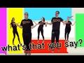 Koo Koo Kanga Roo What S That You Say Dance A Long mp3
