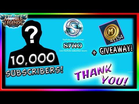 """FACE REVEAL? + GIVEAWAY!"" | Mobile Legends | 10k Subscriber Special"