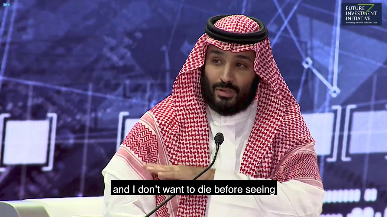Saudi Crown Prince Mohammed Bin Salman on putting the Middle East at the forefront of the world