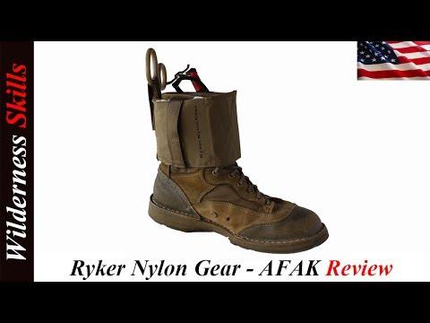 Ryker Nylon Gear - AFAK Review English Version