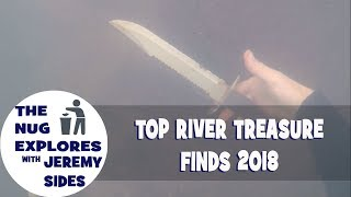 Top Detrashing and River Treasure Finds of 2018.