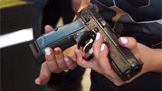 New CZ Shadow 2 9x19mm automatic pistol unveiled IWA 2016 Nuremberg Germany Ceska zbrojovka