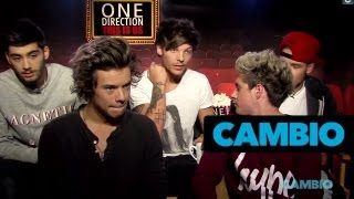 One Direction Shows Off Tattoos | Cambio