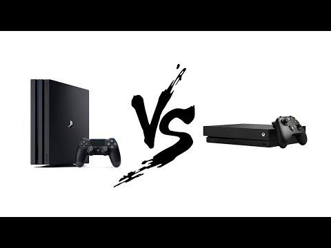 PS4 Pro Vs Xbox One X