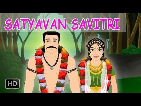 Satyavan and Savitri - Short Stories from Mahabharata - Animated Stories for Children