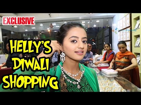 Helly Shah Does Dhanteras Shopping With India Forums