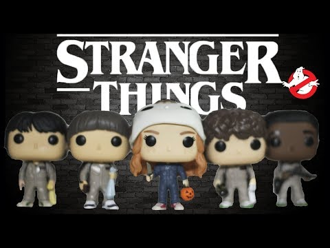 Stranger Things Ghostbusters Funko Pop Collection Review