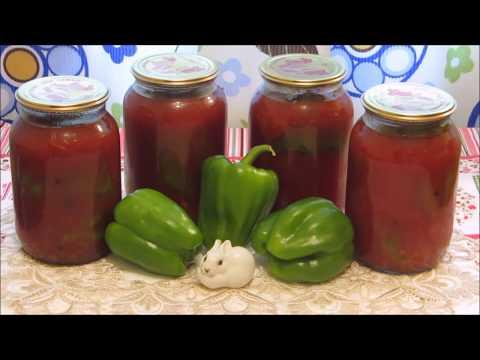 Перец, фаршированный овощами на зиму  Мастер класс!!!
