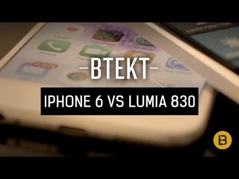 Apple iPhone 6 vs Nokia Lumia 830