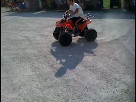 MINIQUAD ATV 125cc PIT BIKE MINI QUAD MINIMOTO POCKET BIKE DIRT BIKE - YouTube