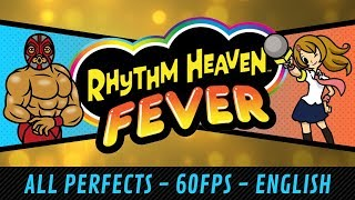 Rhythm Heaven Fever (Wii) - All Perfects (60 fps)