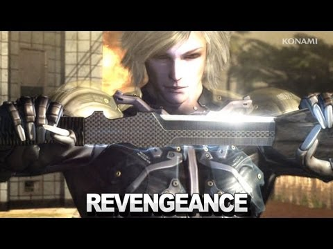 Metal Gear Rising Revengeance - High Frequency Blades Trailer