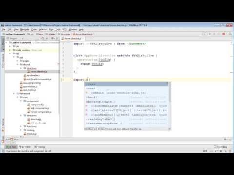 Создание фреймворка для SPA на чистом JavaScript. Урок 9. Директивы