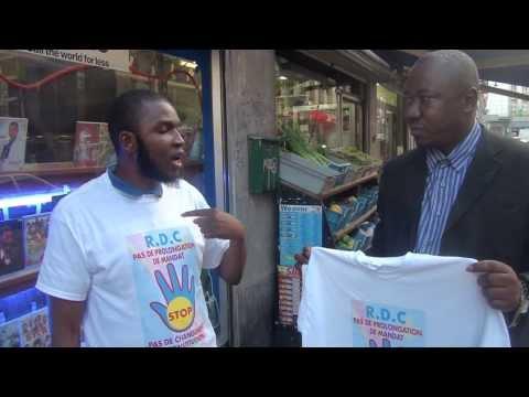 Mobilisation tous Azimut à Bruxelles: Pas de Changement de Constitution en RD.Congo