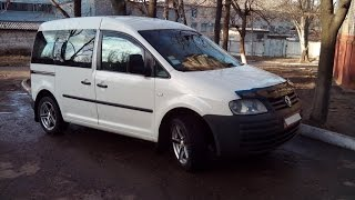 Мини тест драйв VW Caddy 2005 1.9 TDI 77 kW