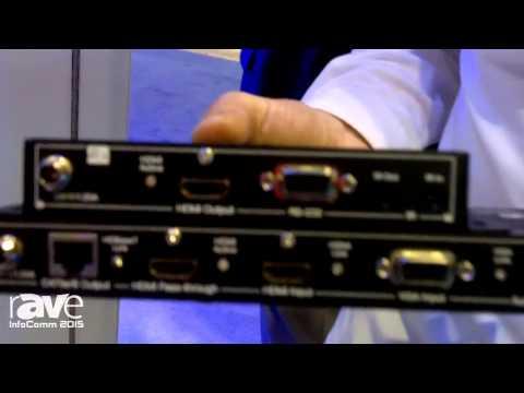 InfoComm 2015: Key Digital Showcases KD-X1000ProK HDBaseT Transmit Receive Pair
