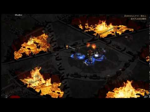 diablo 2 the best and fastest magic find char assasin build 750+ MF (Eu private server) #1