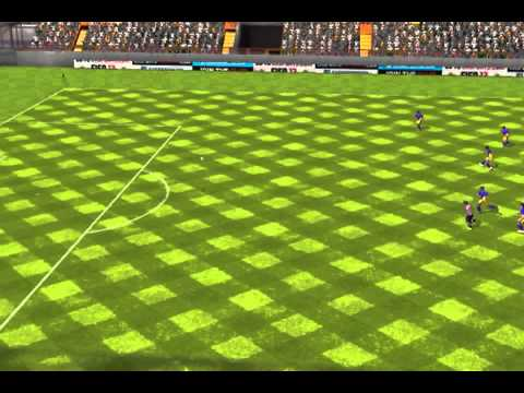Fifa 13 Iphone ipad - Team Xxx Vs. Spanish Tots video