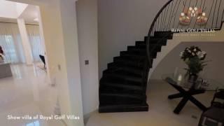 Video  tour of Royal Golf Villas at Jumeirah Golf Estates