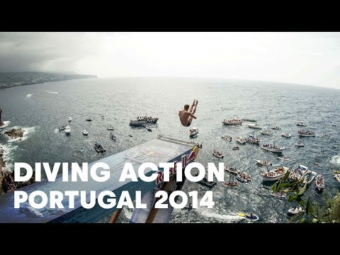 Best diving action from Portugal - Red Bull Cliff Diving World Series 2014