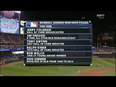 Tony Gwynn Tribute - MLB International All Star Game