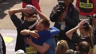 Boston bombings survivors mark milestone by completing marathon