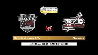 29 - Play-in 1: Bats Bratislava DNV – Pioneers