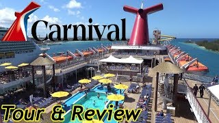 Carnival Sensation 2019 Tour & Review with The Legend