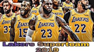 Lakers sino kaya ang kukunin para makatambal ni LBJ at AD?