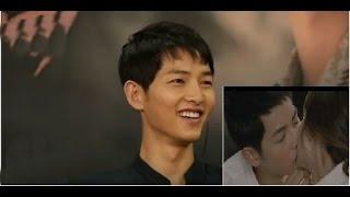 Hé lộ cánh hôn của Song Joong Ki Song Hye Kyo bị cắt vì qúa 'gợi tình' [tin tức trong ngày]