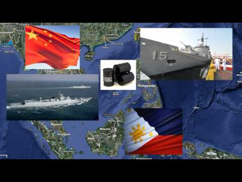 China and Philippines Oil Dispute in the South China Sea WAR?