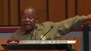 Cope leader speaks at Unisa Land debate