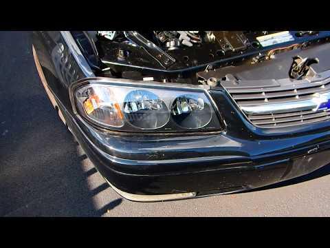 Installing new headlights on 2000-2005 Chevy Impala