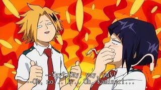 Bakugou turn Kaminari into Yay mode - Boku no hero academia [Funny moment].