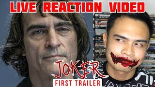 Joker (2019) First Trailer | LIVE REACTION VIDEO