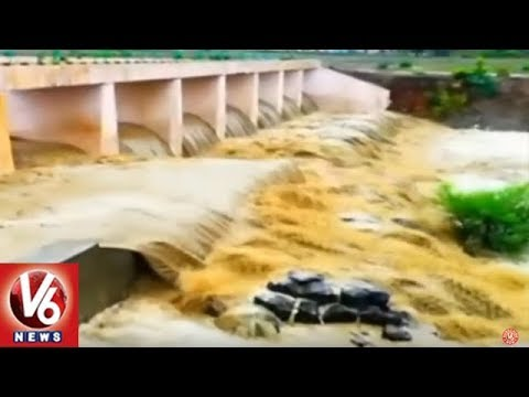 Weather Report | Monsoon Covers Entire Country, Heavy Rains Hit Himachal Pradesh And Jammu | V6 News