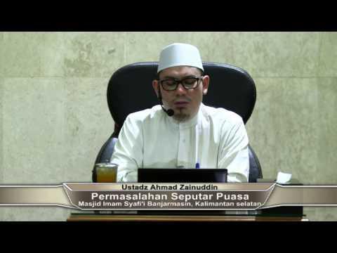 Fiqih Ramadhan Berkah #3 - Ustadz Ahmad Zainuddin, Lc