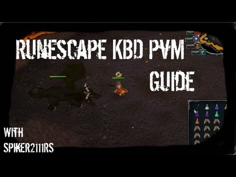 Runescape l King Black Dragon PvM Solo Guide l Commentary [Melee - HD ]