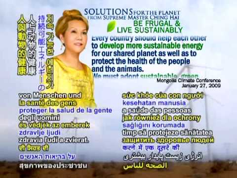 SOLUTIONS for the PLANET from Supreme Master Ching Hai