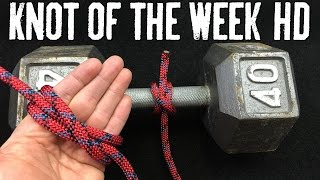 How to Tie the Clove Hitch and Variations - ITS Knot of the Week HD