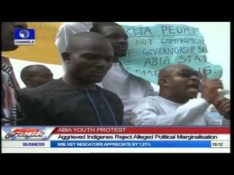 Abia Youth Storm Port Harcourt To Protest Alleged Political Marginalisation
